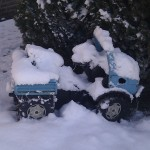Winterimpressionen 2012: Oooops, keine Winterreifen!