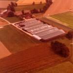 Betriebsimpressionen - Luftaufnahme 1974
